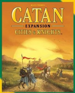 Catan : Cities and Knights - 5 and 6 Player expansion